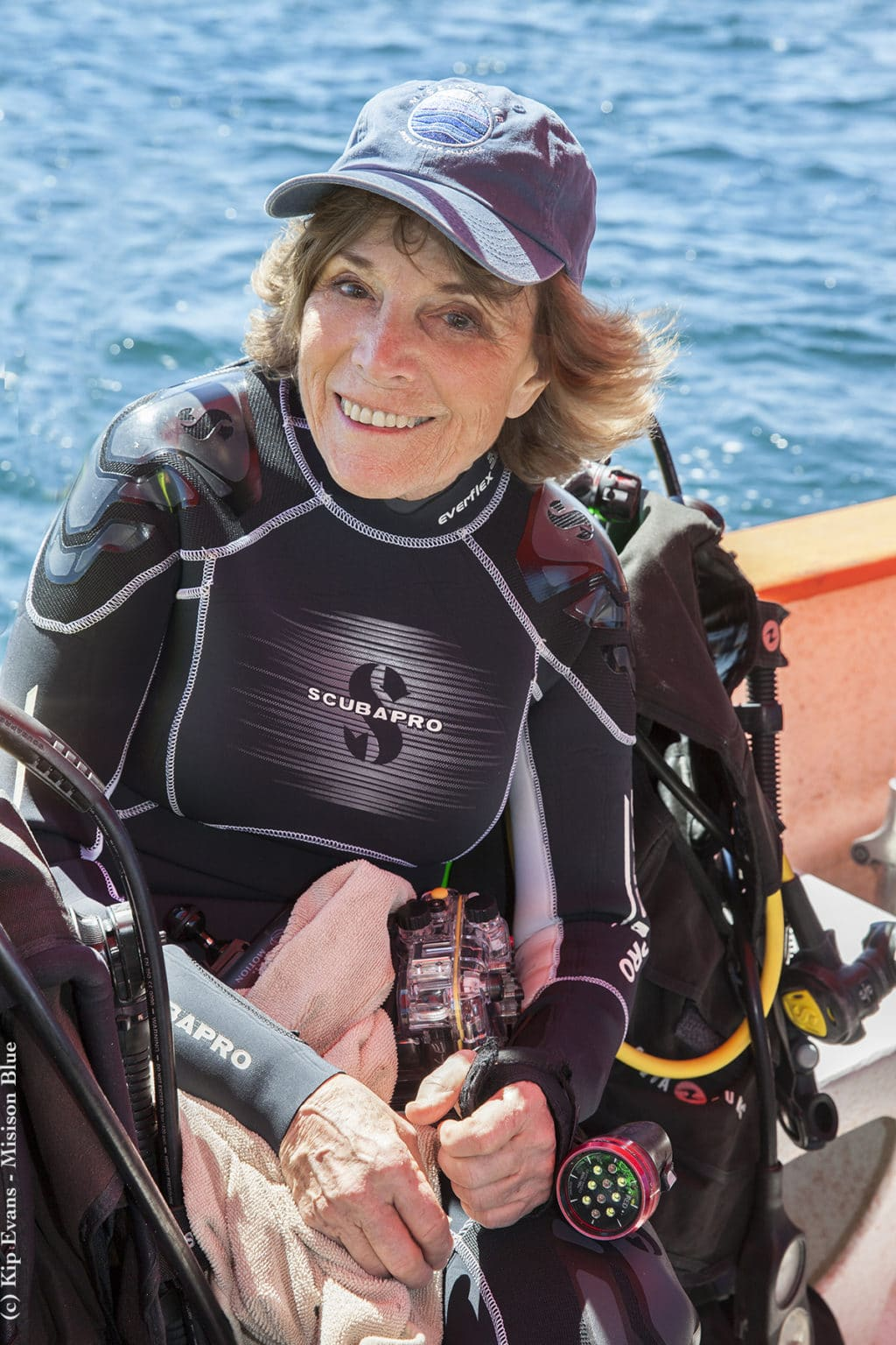 Sylvia Earle Diving